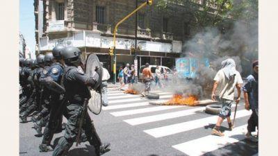 El control de la calle, otro flanco débil del gobierno de Macri