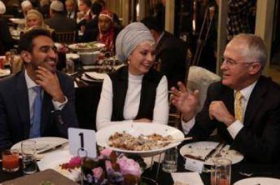 Primer ministro de Australia organiza un iftar de Ramadán