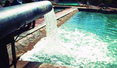 Jáchal tiene problemas con el servicio de agua potable tras fallas eléctricas