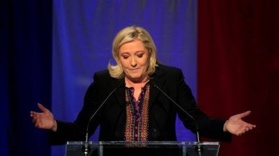 Marine Le Pen celebr� el resultado y exigi� refer�ndum en Francia