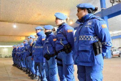 Refuerzan la seguridad en Bat�n con Polic�a Local