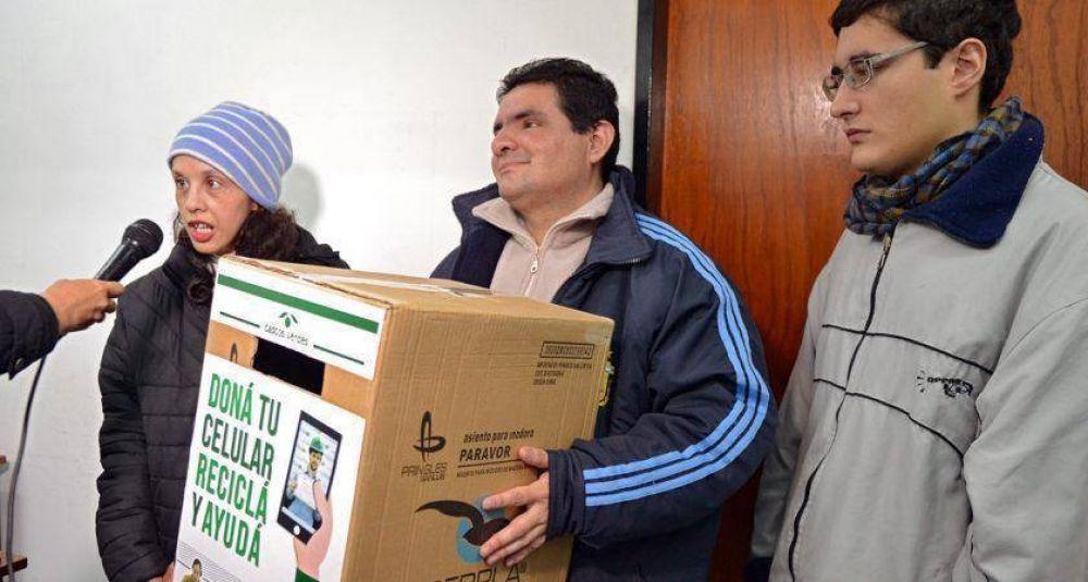 Campaña de recolección de celulares en desuso para promover el cuidado ambiental y la inclusión