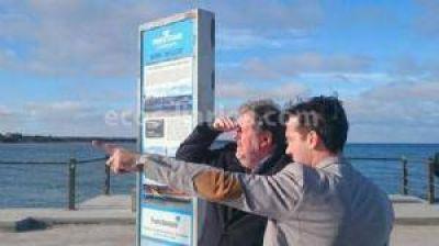 El ministro Elustondo destacó la importancia de Puerto Quequén