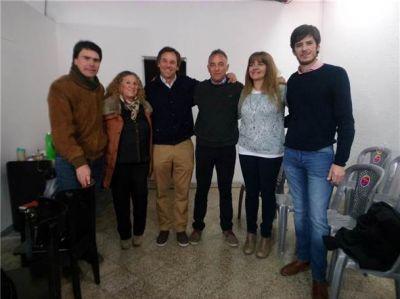 Desarrollo Social de Provincia se reunió en Bolívar