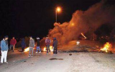 Cortes y protestas por falta de luz en algunos barrios de Berisso
