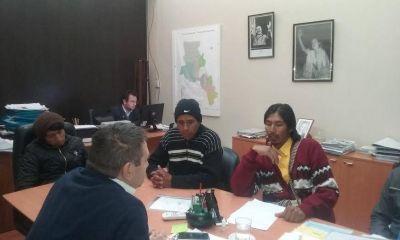 Comunidades originarias con autoridades de Salud