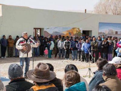 """Gerardo Morales en la Puna: """"hay un camino a las energías renovables que hay que seguir"""""""