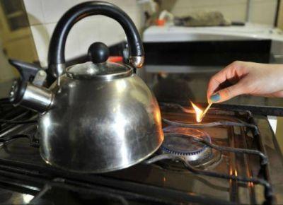 Admiten baja presión en el suministro de gas