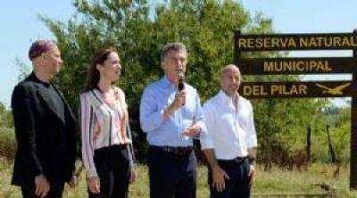 Humedales: denuncian que Macri frena la ley que prometi� en Pilar