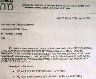 APROSA rechaza el resultado de paritaria y define nuevas acciones