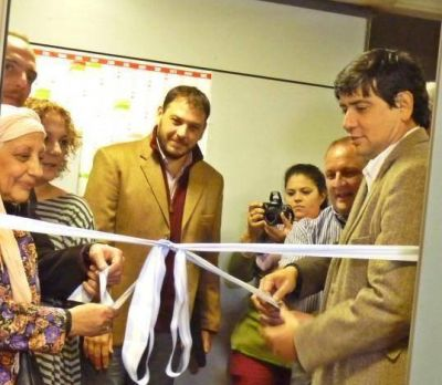 Losada inaugur� la Sala de Situaci�n de Salud Local