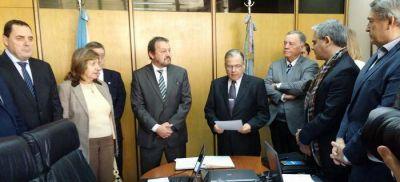 Se presentó la terna para el Juzgado de Garantías de Olavarría