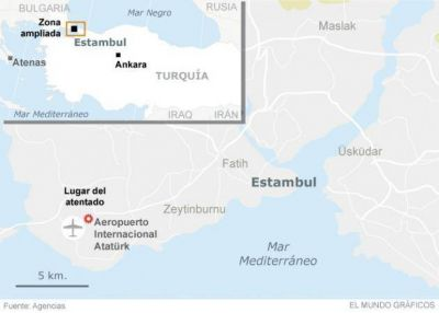 Turqu�a apunta hacia ISIS como autor del atentado en el Aeropuerto Atat�rk