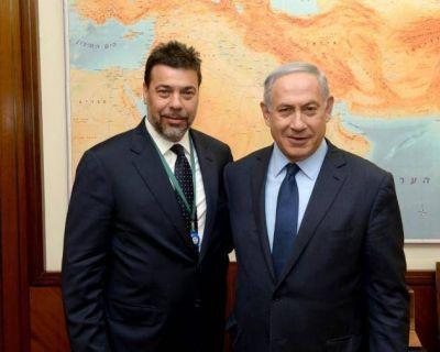 El empresario argentino Dar�o Werthein se reuni� con el primer ministro Binyamin Netanyahu