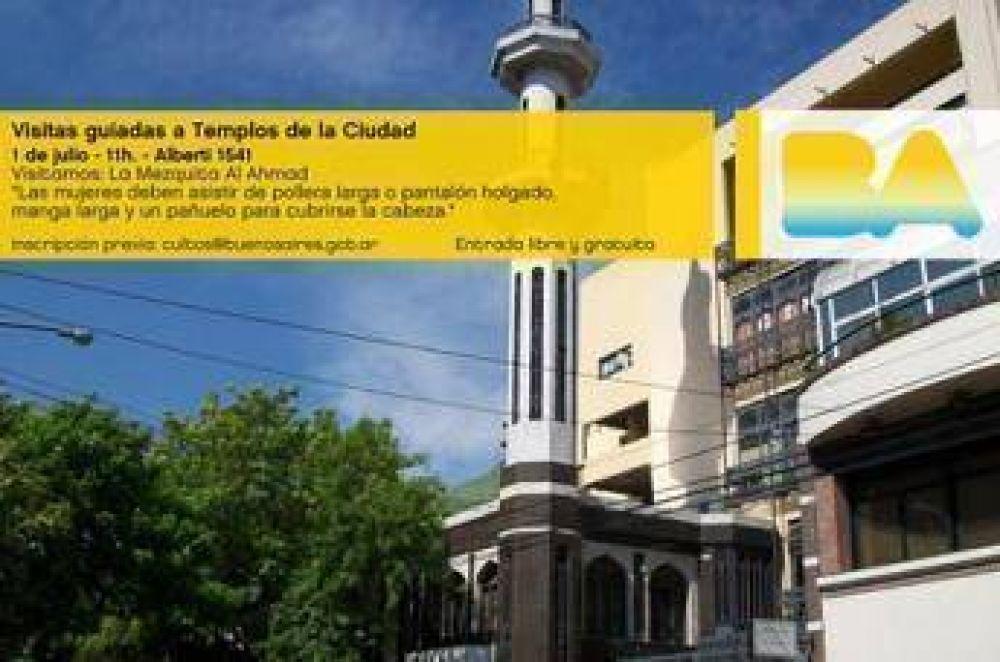 Dirección General de Cultos de la ciudad de Buenos Aires organiza visita guiada a la mezquita Al Ahmad