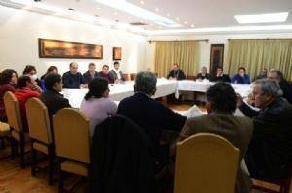 Corpacci pidió a su gabinete cohesión y responsabilidad