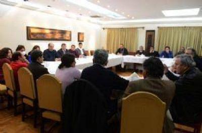 Corpacci pidi� a su gabinete cohesi�n y responsabilidad