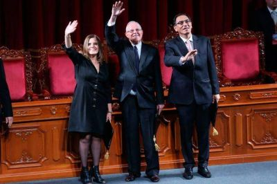 Kuczynski, ya consagrado, dijo que todos los peruanos deben