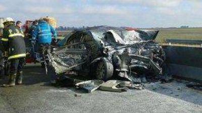 La senadora Szelagowski y la hermana del ex intendente de Olavarr�a graves tras accidente