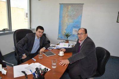 El Intendente gestionó la continuidad de la oficina de la ex AFSCA ante el Encargado de Regiones del ENACOM
