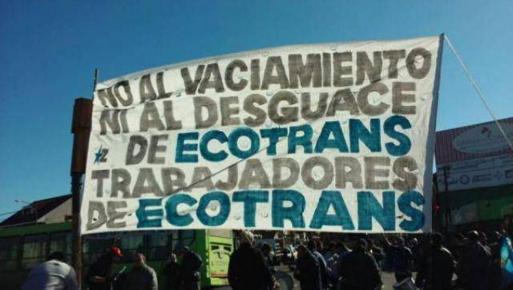 La empresa Ecotrans está de paro y no funcionaría hasta el viernes