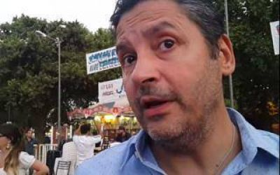 Menéndez busca adhesión de políticos y sindicalistas en La Plata