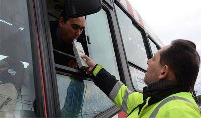 En cuatro meses Tránsito detectó casi tres mil conductores con alcohol en sangre