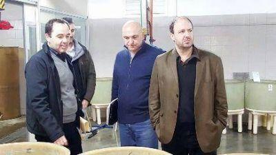Concejales del Frente Renovador en el INIDEP analizaron proyecto de Maricultura