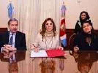 Gobierno de la provincia y la Federación de Agricultura Familiar firmaron el acuerdo