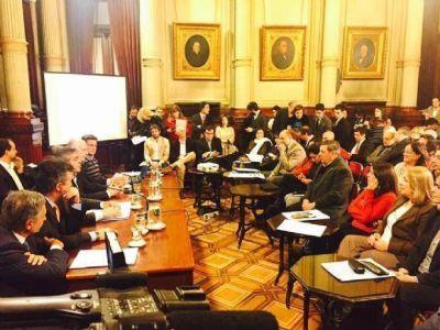 Senadores piden obras en el marco del Plan Belgrano