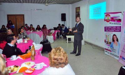 CAPyMEF: exitoso encuentro de mujeres empresarias formoseñas