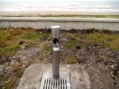 Vándalos atentan contra el patrimonio de todos:  rotura de bebedero de OSSE en Estrada y la costa