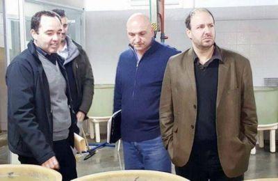 Concejales massistas en reuni�n de trabajo con autoridades del Inidep