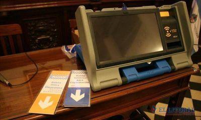 Apoyo político al voto con boleta única electrónica
