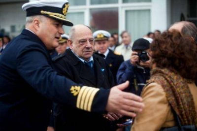 Acto en el 206º aniversario de la creación de la Prefectura Naval Argentina