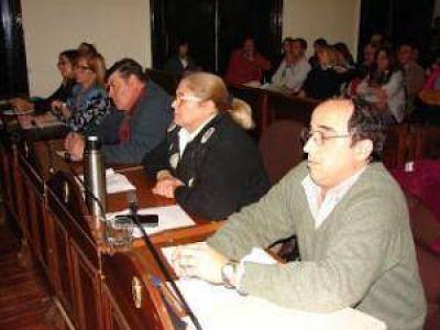 Audiencia pública en el Concejo Deliberante.Pases de facturas en la extensa audiencia pública