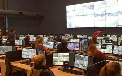 """""""Falta gente para revisar las imágenes que generan las cámaras de seguridad"""""""