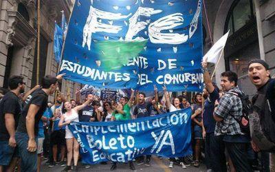 Realizarán una nueva marcha en reclamo del Boleto Estudiantil