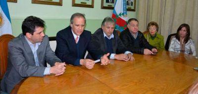 Bosetti y diputados avanzaron en el di�logo sobre la reforma judicial