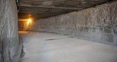 El túnel de la calle Córdoba estará listo en agosto