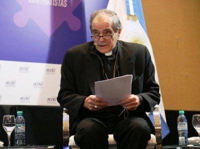 Mons. Casaretto invitó a mirar al 40% que no tiene trabajo en blanco