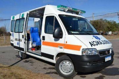 Entregaron una ambulancia en el hospital de Mina Clavero