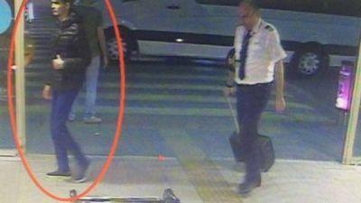 Las primeras imágenes de los terroristas de Estambul