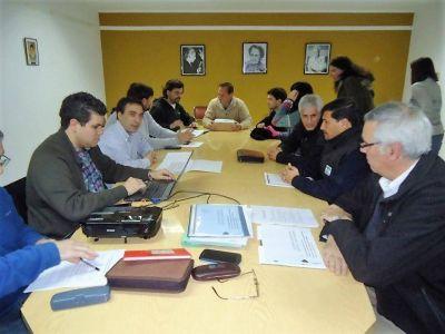Concejales y funcionarios analizaron un plan de seguridad con la ausencia del bloque K