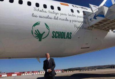 Del Cerro, director de Scholas: