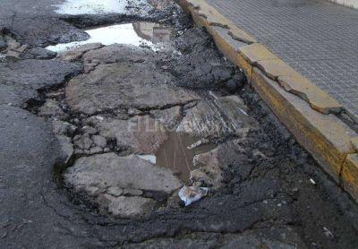 Dónde están los 1.221 baches que quiere reparar el municipio