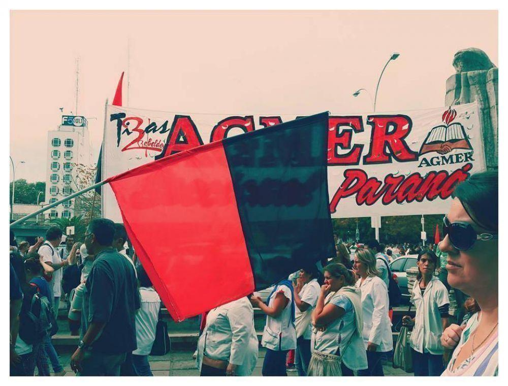 Agmer Paraná realizará asambleas este miércoles