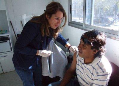 Salud: amplían la vacunación antigripal en toda la provincia