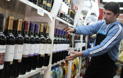 El consumo y las exportaciones de vinos contin�an con fuerte baja