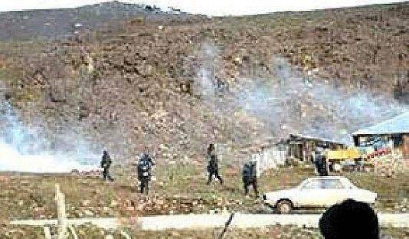 Desalojaron a mapuches en Aluminé